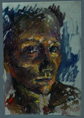 Anastasia Shemet. Selfportrait