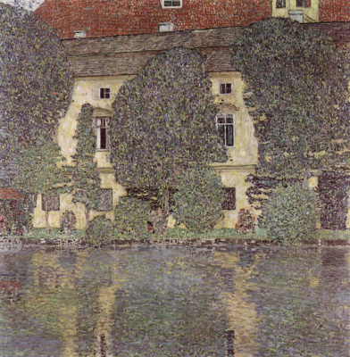 Gustav Klimt. Kammer castle on lake Attersee III