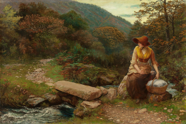 Arthur Hughes. Recreation