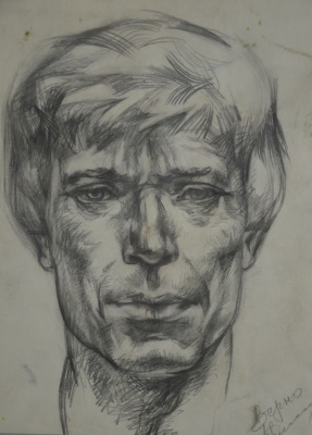 Valentin Vasilyevich Demyanenko. The head of the sitter