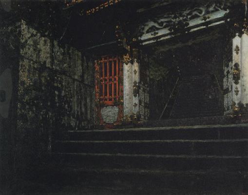 Vasily Vasilyevich Vereshchagin. The entrance to the temple of Nikko