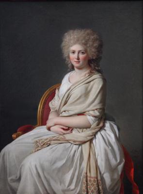 Jacques-Louis David. Portrait of Anne-Marie-Louise Thelusson, Countess Corsi
