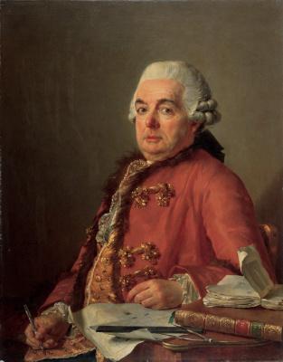 Jacques-Louis David. Portrait Of Francois