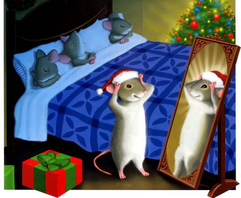 Майкл Гарленд. Мышь перед Рождеством 18