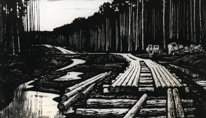 Albert Mikhailovich Tumanov. Weekly forestry