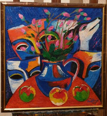 Robert Patwakanovich Gyulazyan. Masks