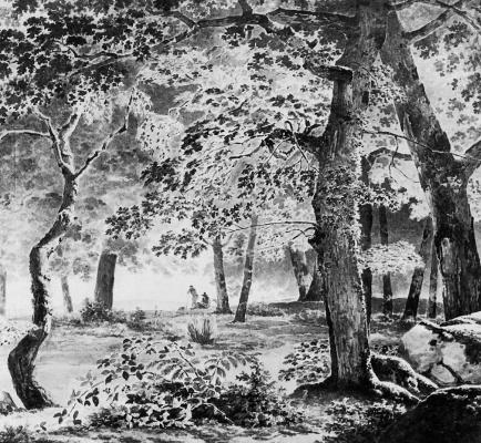 Йозефус Книп. Лесной вид