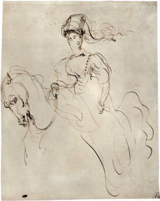 Eugene Delacroix. Amazon