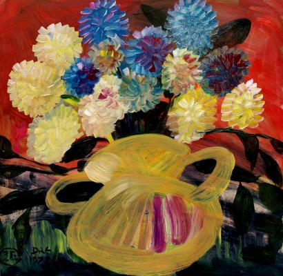 Alexander Ocher Kandinsky-DAE. German bouquet