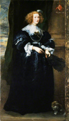 Anthony van Dyck. Portrait of Marie de RAE