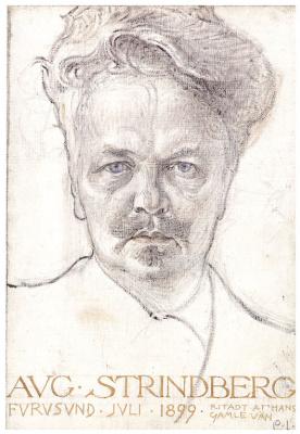 Карл Ларссон. Август Стриндберг