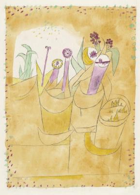 Пауль Клее. Комнатные цветы