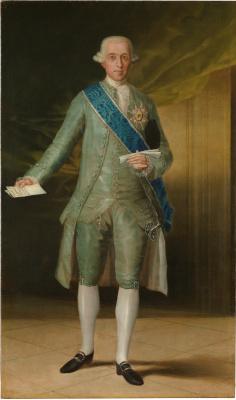 Франсиско Гойя. Хосе Моньино, 1-й граф Флоридабланка