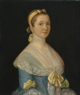 Thomas Gainsborough. Mrs prudence RIX (formerly the authorship mistakenly attributed to William Hoare)