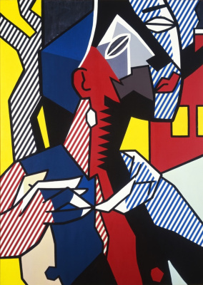 Roy Lichtenstein. Female figure