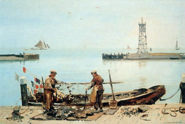 Корнелис Вриденбург. Рыбаки