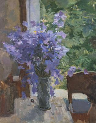 Sergey Vasilyevich Gerasimov. Bellflowers