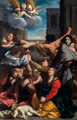 Guido Reni. Massacre of the innocents