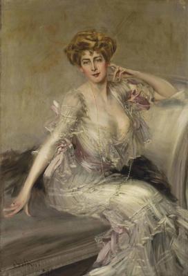 Portrait Of Anna Elisabeth Hansen. 1902