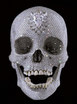 "Diamond skull (""For the love of God"")"