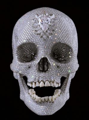 """Бриллиантовый череп (""""За любовь Господа"""")"""