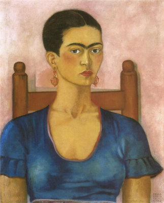 Frida Kahlo. Self-portrait