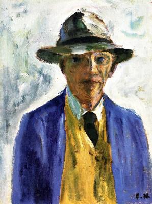 Emil Nolde. Self-portrait