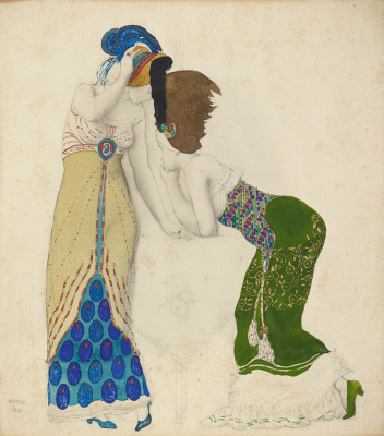 Lev Samoilovich Bakst (Leon Bakst). Fantasy on the theme of costume modern