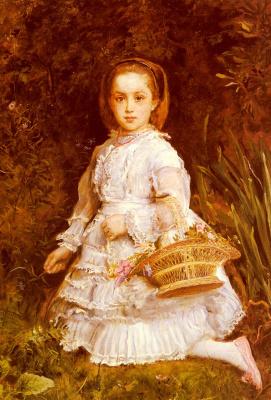 John Everett Millais. Portrait Of Grace Liz