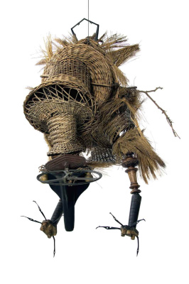 Antonio Berni. The threatening bird