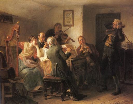 Адольф Эберле. Музыка