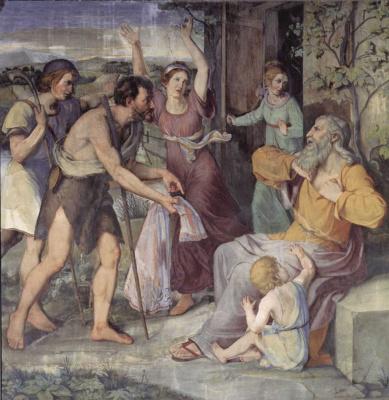 Фридрих Вильгельм фон Шадов. Иаков оплакивает Иосифа