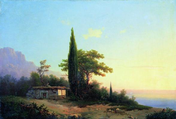 Ivan Aivazovsky. Crimean view