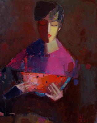 Elena Valeryevna Shipilova. Evening watermelon