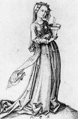 Martin Schongauer. Virgin