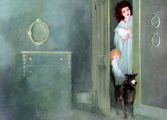 Сьюзен Конди Лам. Люди и собака
