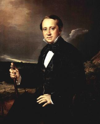 Vasily Andreevich Tropinin. Portrait Of Alexander Alexandrovich Sapozhnikov