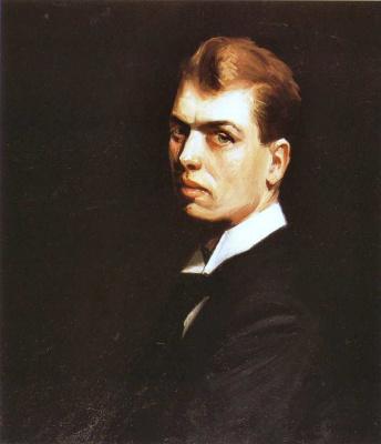 Edward Hopper. Self-portrait