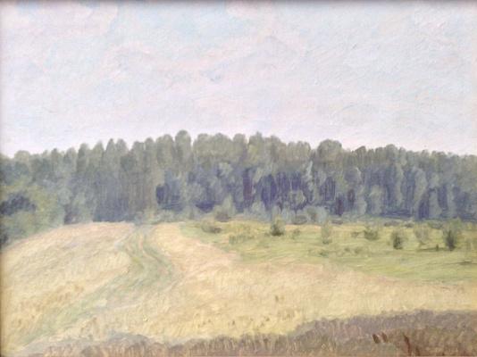 Nikolay Petrovich Krymov. Lawn