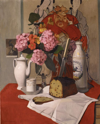 Felix Vallotton. Still life with flowers