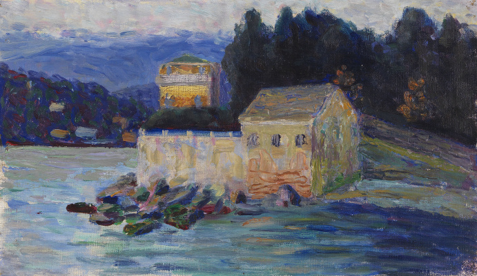 Gabriele Münter. Landscape in Rapallo