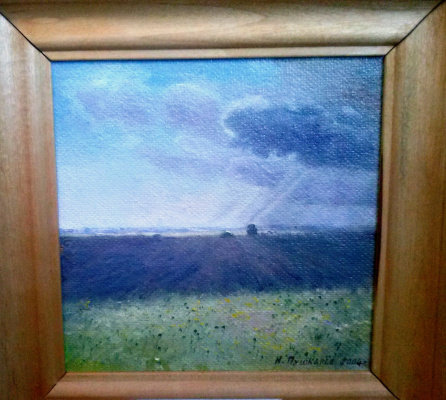 Nikolay Dmitrievich Pushkarev. Rural motif