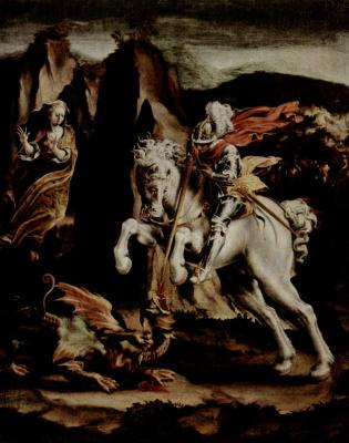 Lelio Orsi. St. George and the Dragon