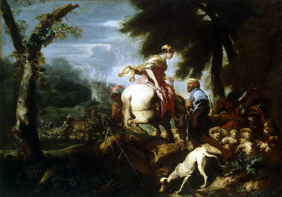Встреча Исаака и Ревекки
