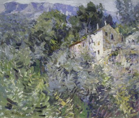 Konstantin Korovin. In the South of France