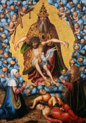 Лукас Кранах Старший. Святая Троица