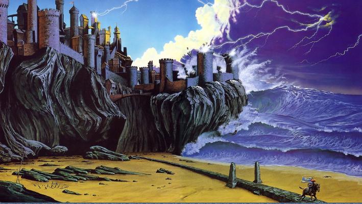 Марк Харрисон. Крепость на скалах