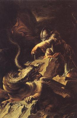 Сальваторе Роза. Дракон