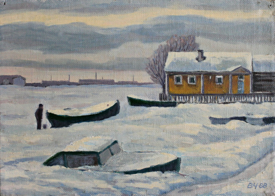 Victor Andreevich Chepurko. Belomorsk