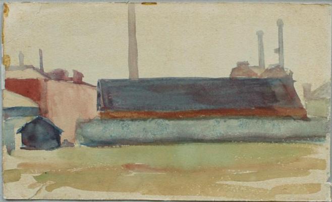 Mikhail Vasilyevich Matyushin. Roofs